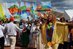 Annual UK Eritrean Festival 2015 Singer