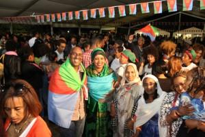 Annual Eritrean UK Festival 2015 Visitors