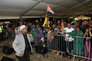Annual Eritrean Uk Festival Male Singer